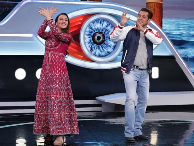Bigg Boss 12: Priety Zinta shoots with Salman Khan in Weekend Ka Vaar episode