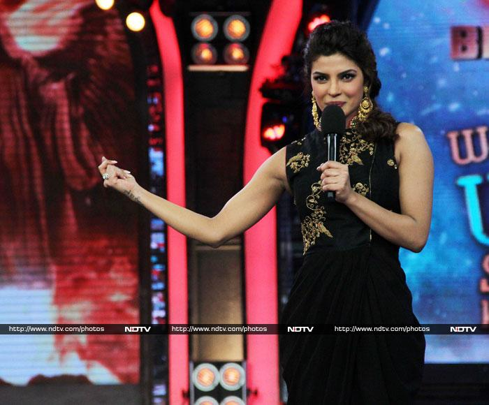 Exotic Priyanka on Bigg Boss 7
