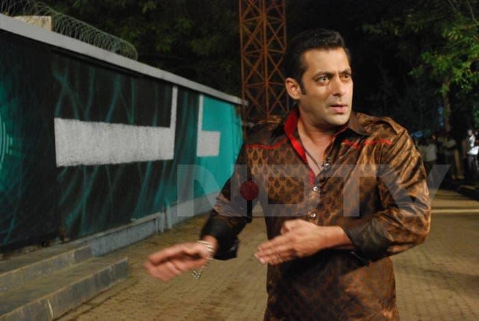 Salman inside Bigg Boss house