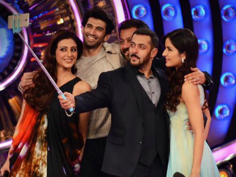 Photo : Bigg Boss Finale: Katrina Isn't Selfie-Shy When Salman is by Her Side