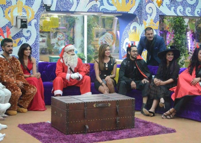 Bigg Boss 9: Contestants Celebrate Salman Khan\'s Birthday