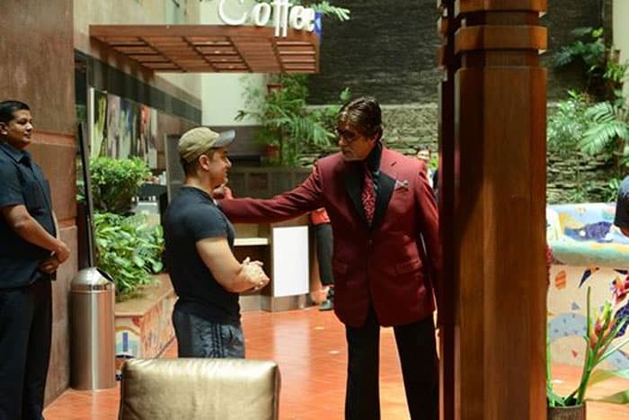 Luck By Chance: Big B Bumps Into Aamir