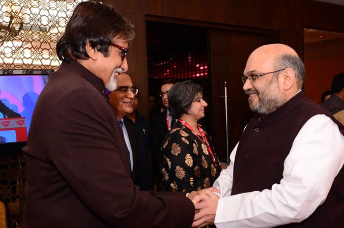 When Big B met an angry young man