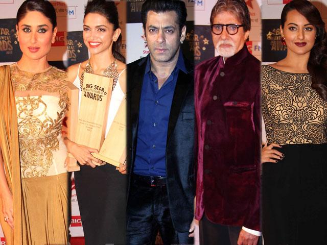 Photo : A-list red carpet at Big Star Awards