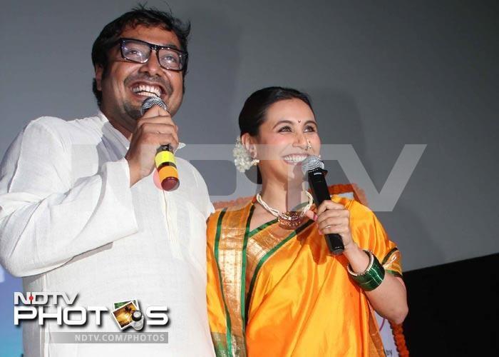 Rani Muhkerji unveils the first look of Aiyyaa