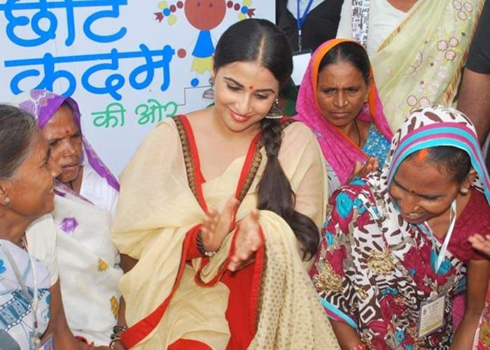 No dirty heroine this: Vidya Balan