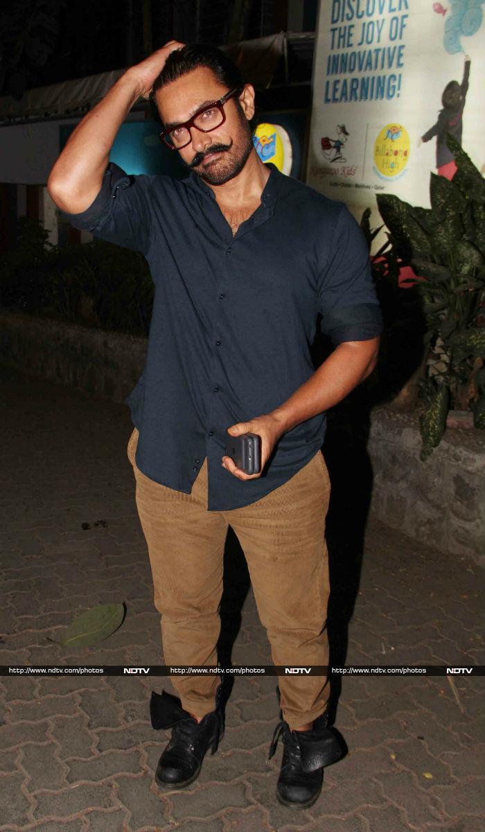 Bipasha Basu, Karan Singh Grover, Aamir Khan\'s Late Night Outings