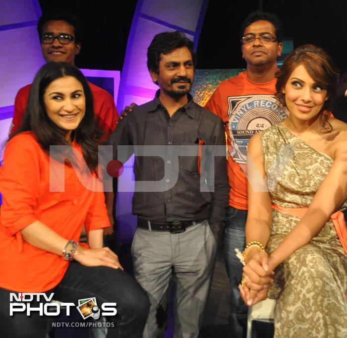 When Bipasha glammed up the NDTV studio