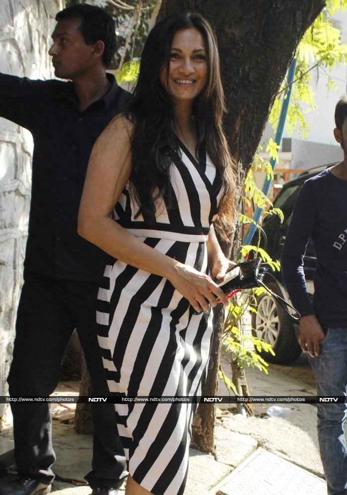 Spotted: Malaika Arora Looks Mesmerizing In Pastel Separates