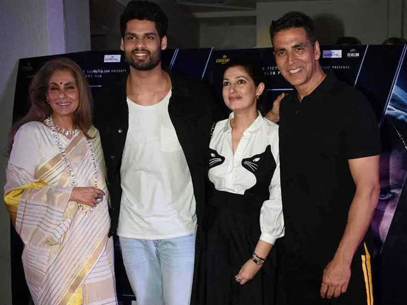 Dimple Kapadia Cheers For Nephew Karan's Film Blank With Twinkle And Akshay, Sunny Deol MIA