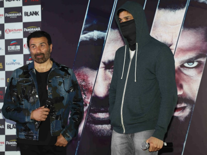 Karan Kapadia Goes Incognito At Blank Trailer Launch But We Know It's Him