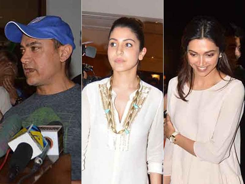 Bollywood Meets the Minister: Aamir, Anushka, Vidya Discuss Censor Board