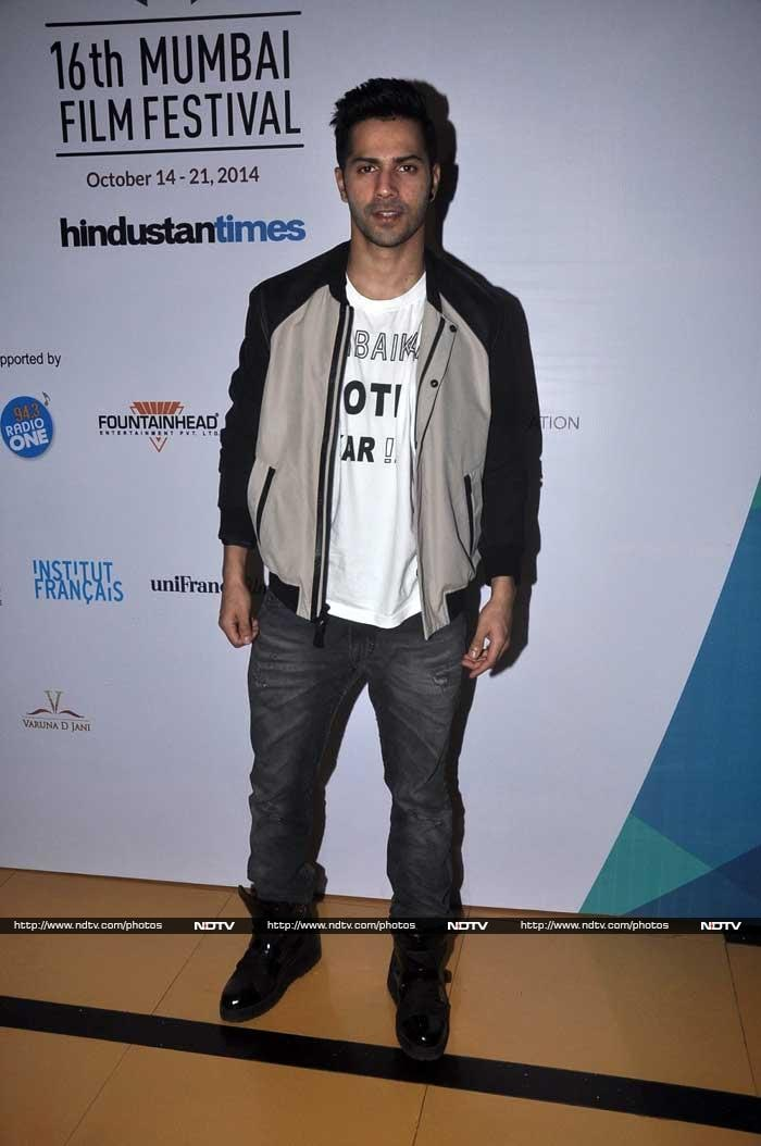 Galaxy of Stars on Day Two of Mumbai Film Festival