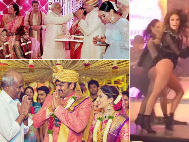 10 Big Fat Celeb Weddings of 2015