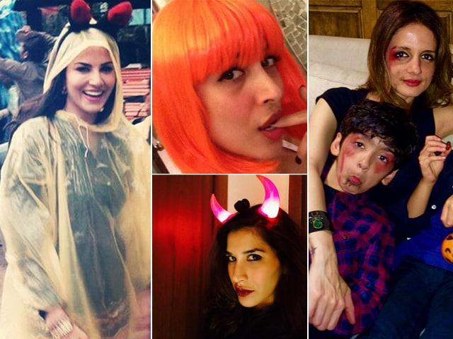 Happy Halloween, Says Bollywood: Sunny, Malaika, Sophie, Sussanne