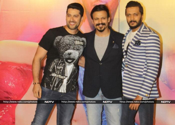It\'s Time For Some Masti With Riteish, Vivek And Aftab