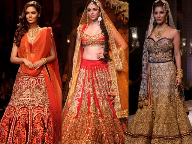 Photo : Wedding belles: Esha, Aditi, Sophie