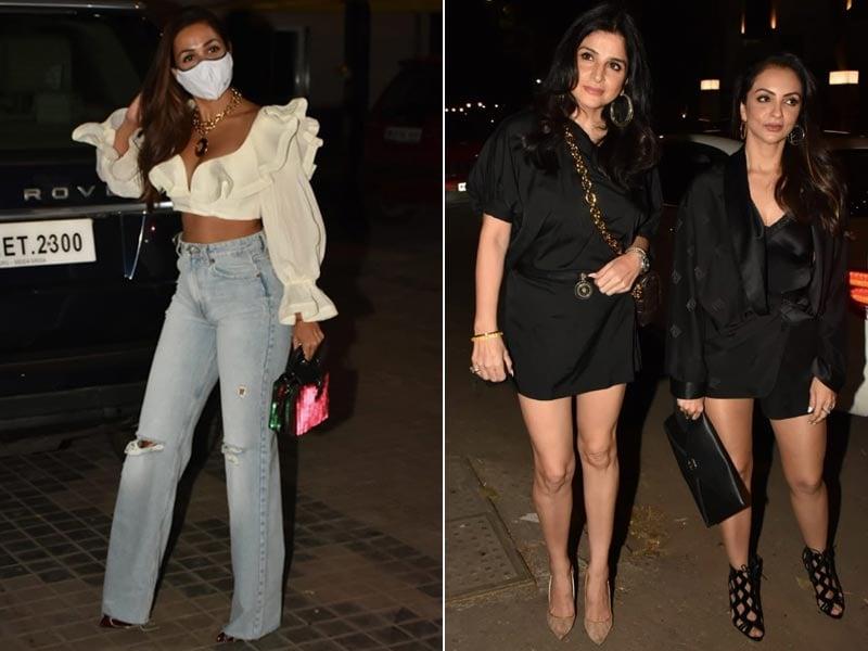 Photo : Malaika Arora, Maheep Kapoor And Seema Khan Raise The Style Quotient At Bunty Sachdeva's House Party