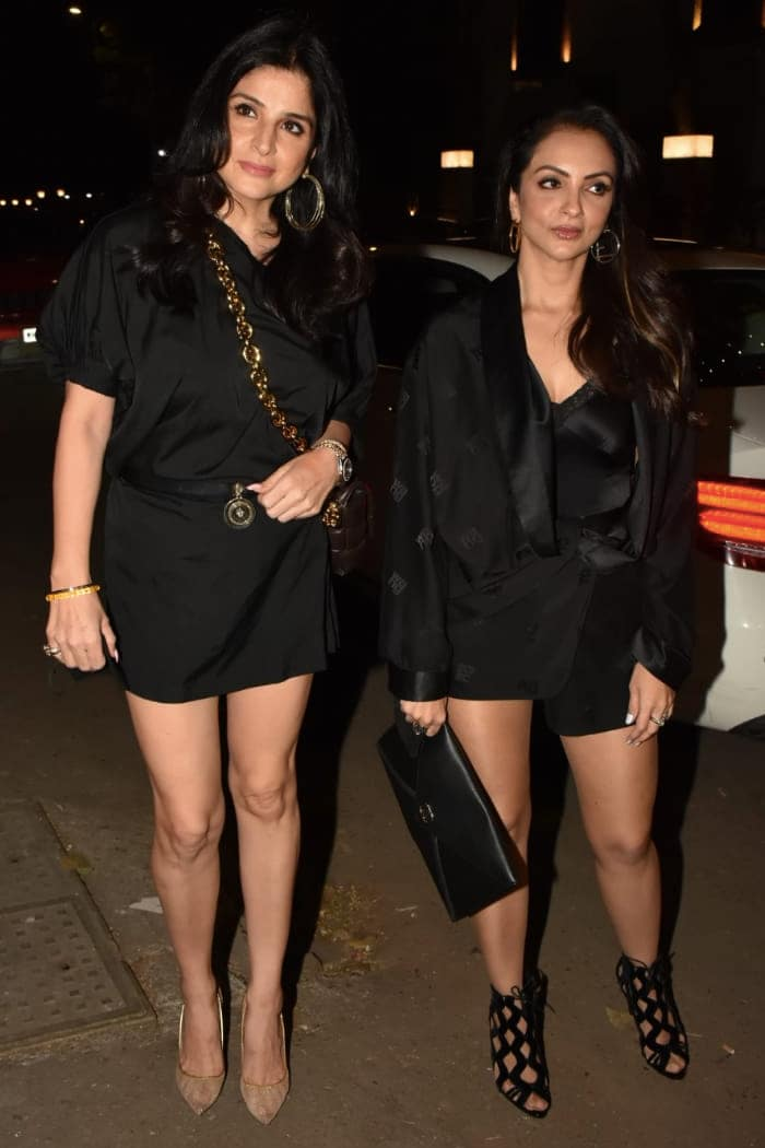 Seema Khan and Maheep Kapoor were pictured together at the party.
