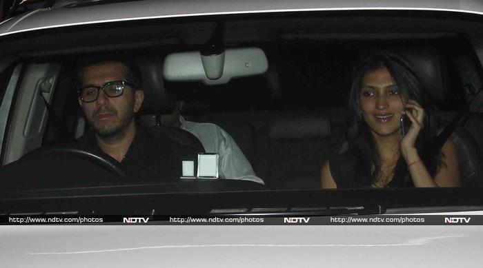 Aditi Rao Hydari and Sushant Watch Detective Byomkesh Bakshy!