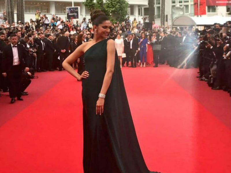 Cannes Film Festival, Day 2: Deepika Padukone Slays The Red Carpet In A Brandon Maxwell Gown