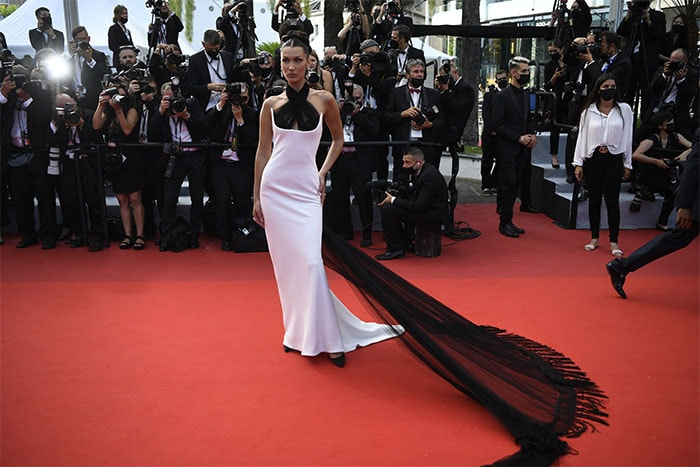 The Return Of The Cannes Red Carpet: Bella Hadid Leads Fashion Pack