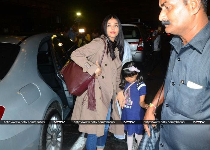 Aaradhya, Such A Poser, Is All Set For Cannes With Mom Aishwarya