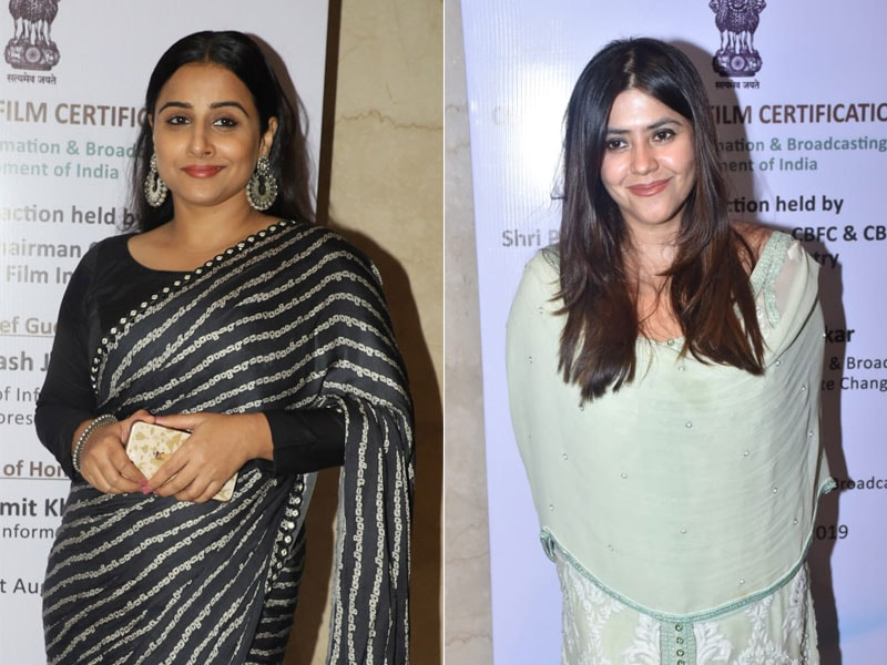 Vidya Balan, Ekta Kapoor And Others Attend Central Board Of Film Certification's Logo Unveiling Event
