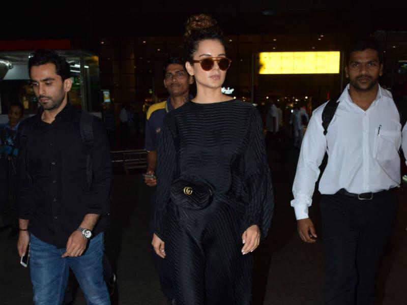 Photo : Kangana Ranaut, Queen Of Airport Fashion