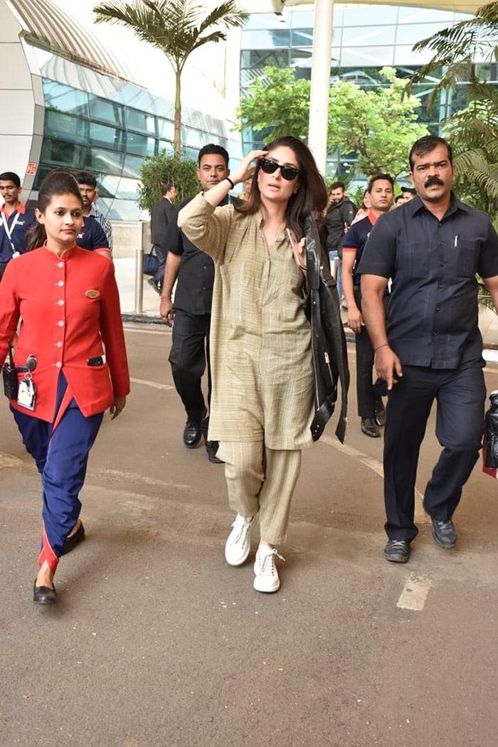 करीना, ऋतिक, जान्हवी समेत इन बॉलीवुड स्टार्स को मुंबई एयरपोर्ट पर किया गया स्पॉट, देखें तस्वीरें