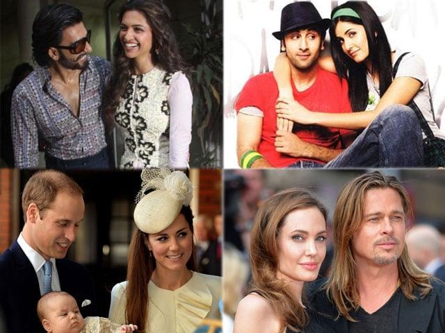 Valentine's Day: Top 10 celeb couples