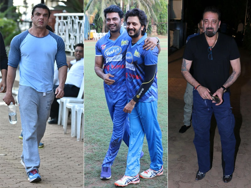 A Lovely Evening For Sanjay Dutt, Sohail Khan, Ritesh Deshmukh And Others