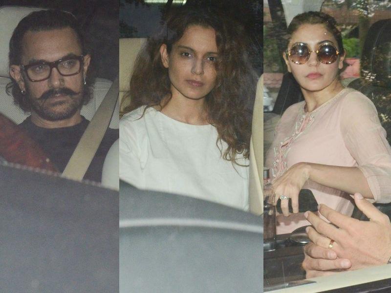 Days After Sridevi's Funeral, Aamir, Kangana, Anushka Visit Boney Kapoor's Home