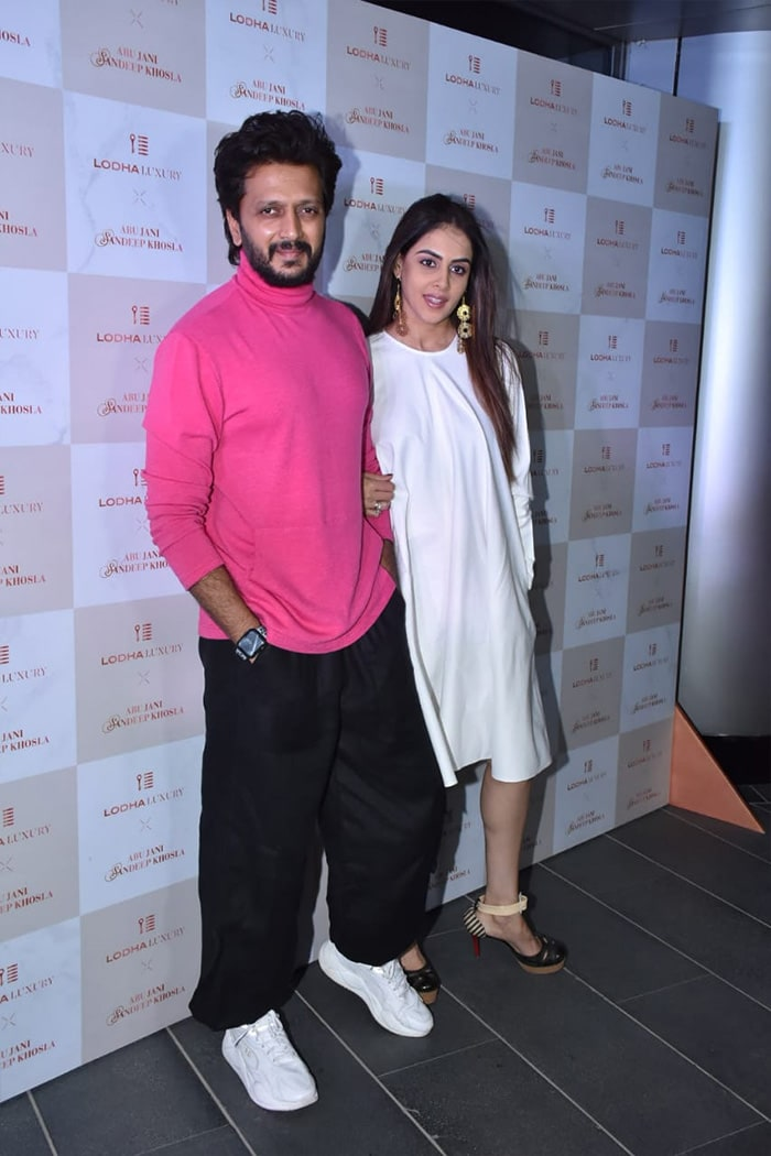 When The Spotlight Followed Riteish And Genelia