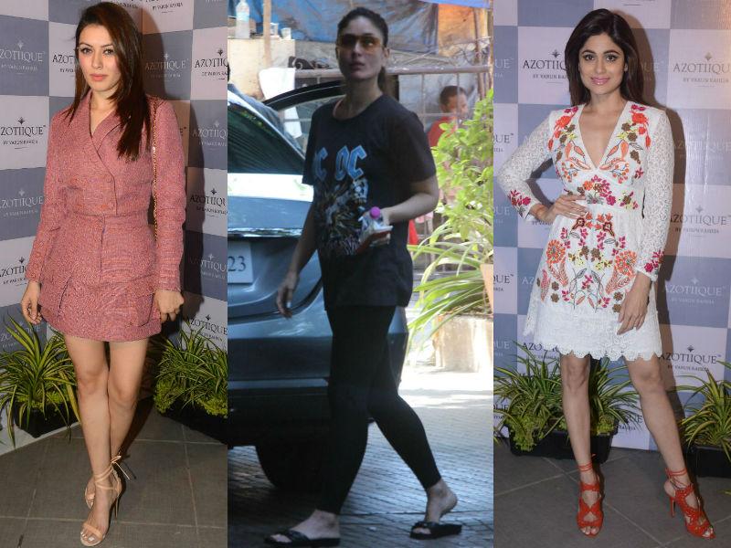 Star Spotting: Hansika, Kareena, Shamita