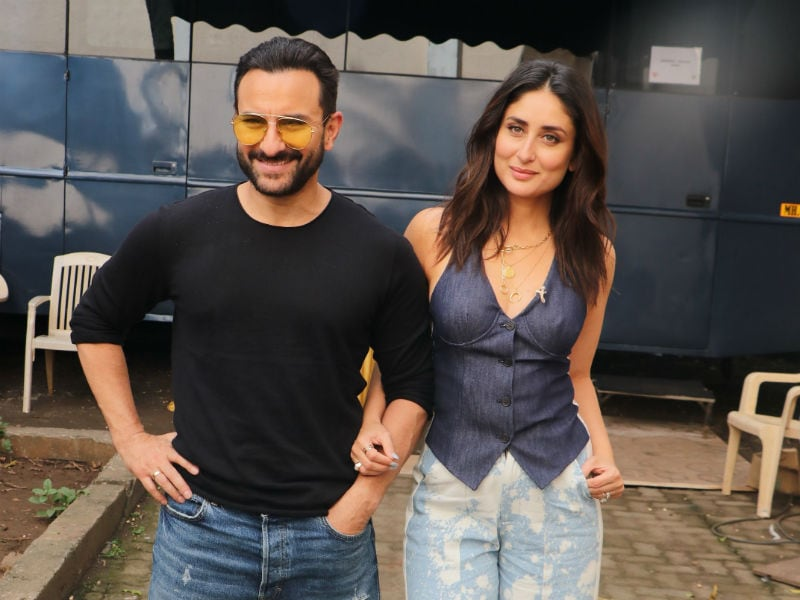 Kareena Kapoor And Saif Ali Khan Are Work Buddies