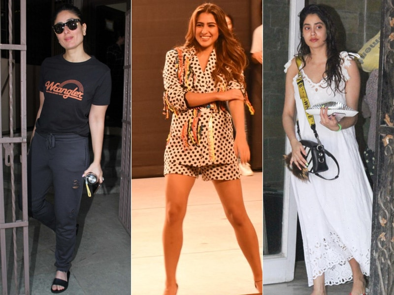 What's Keeping Kareena Kapoor, Sara Ali Khan And Janhvi Kapoor Busy