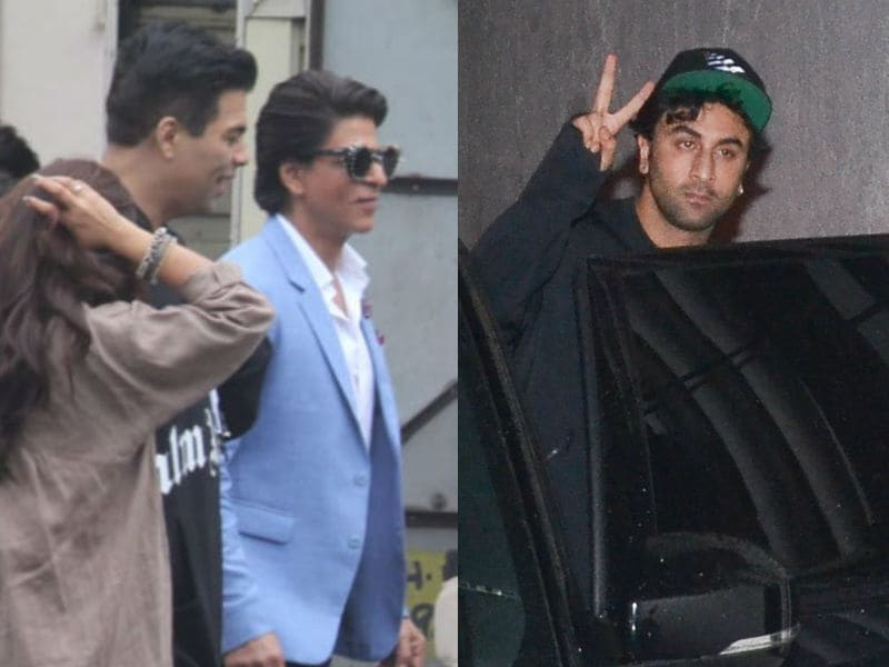 A Busy Day For Shah Rukh Khan, Karan Johar, Ranbir Kapoor And Others
