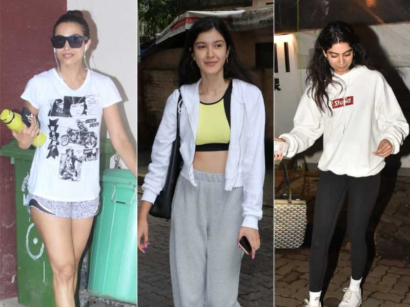 Work, Gym, Eat, Repeat: Malaika, Shanaya, Khushi's Mid-Week Mantra