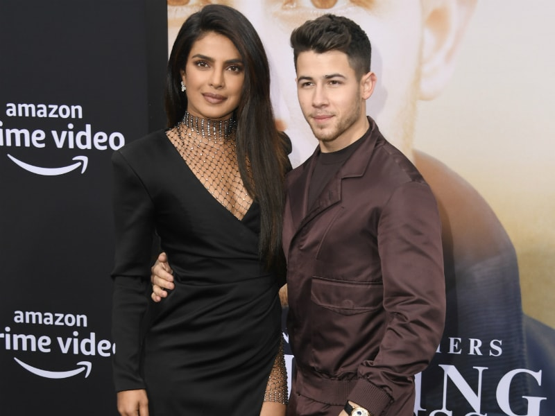 Such Cute Pics Of Priyanka And Nick From Chasing Happiness Premiere