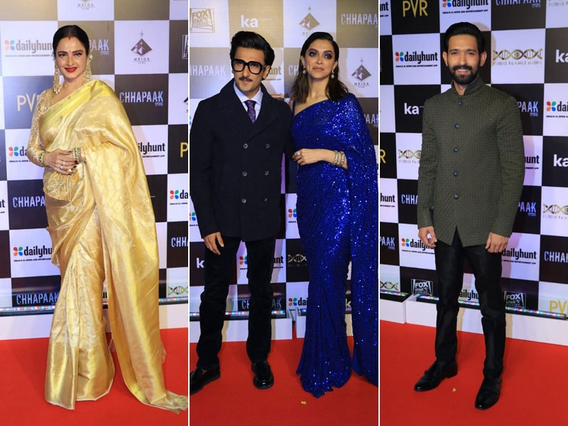 Inside The Premiere Of Deepika Padukone's Chhapaak With Rekha, Ranveer Singh, Vikrant Massey And Other Celebrities