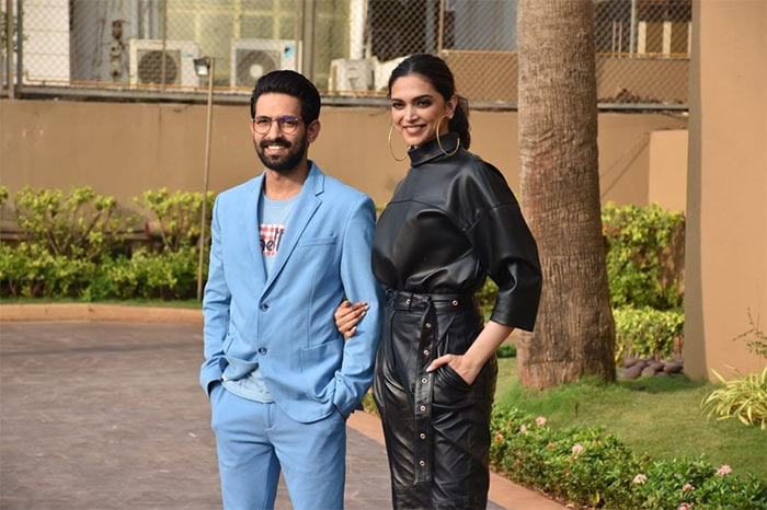 Deepika Padukone And Vikrant Massey Get Busy With Chhapaak Duty