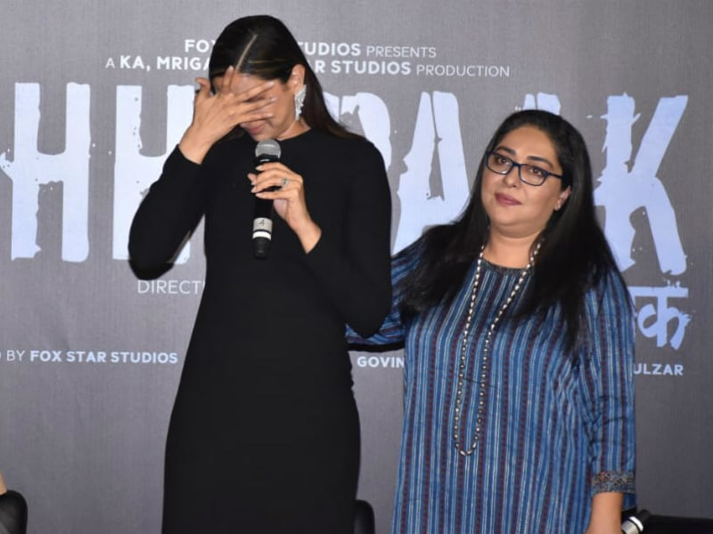 Emotional Deepika Padukone Attends Chhapaak Trailer Launch
