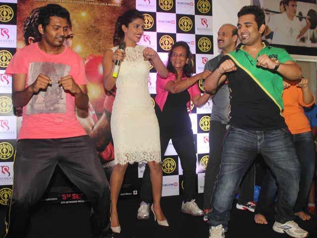 Priyanka: From Boxing Ring to Gym