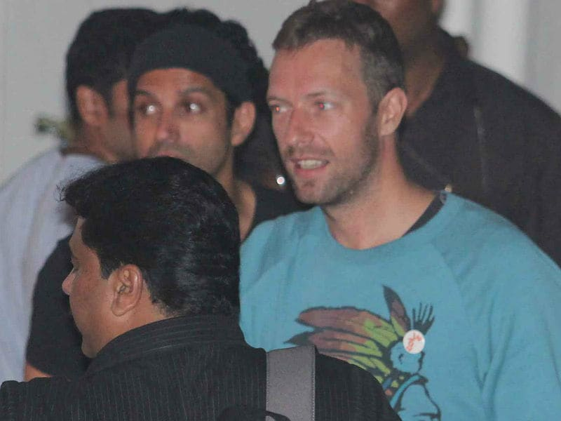 Inside Farhan Akhtar's Rock On Party With Chris Martin