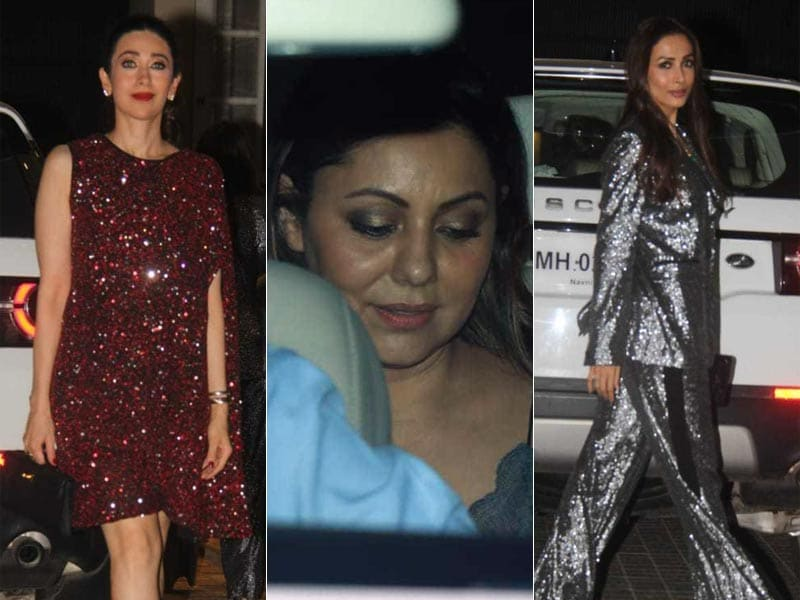 Karisma, Gauri Khan And Malaika Arora Celebrate Christmas In Style