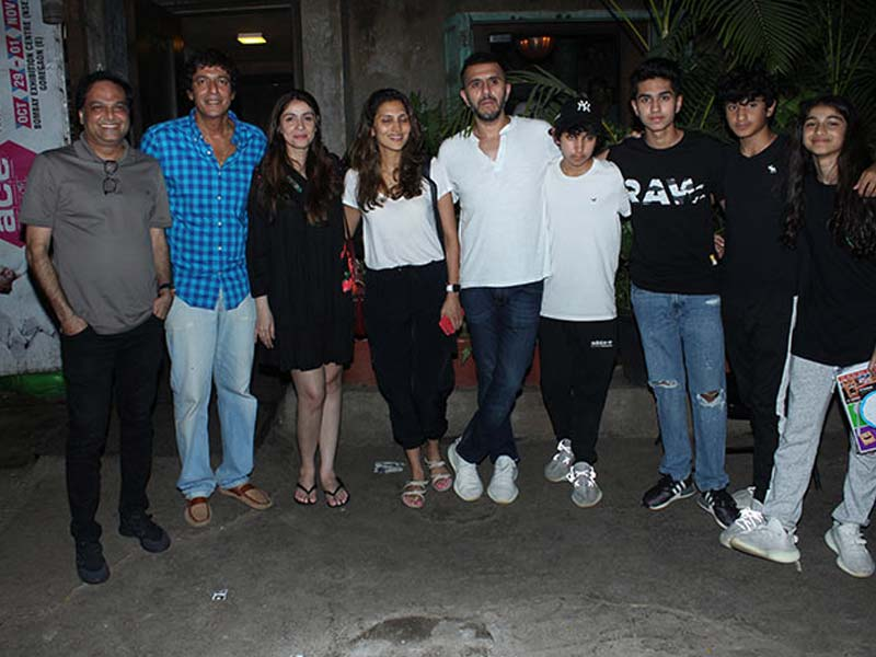 Inside Chunky Panday And Ritesh Sidhwani's Get-Together