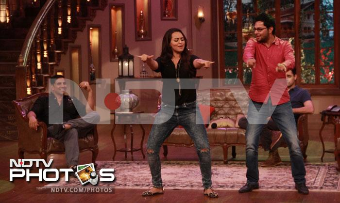 Three\'s company on Comedy Nights