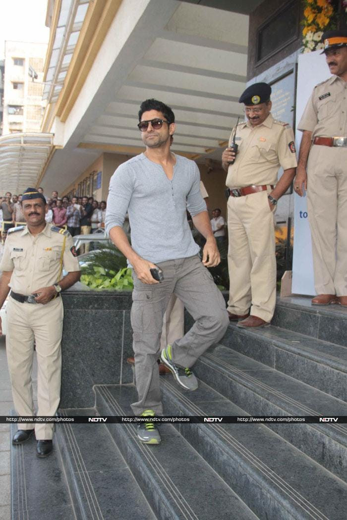 Bollywood\'s special day with Mumbai Police