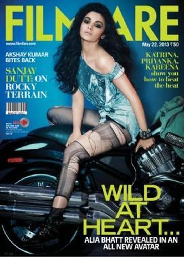Unveiled: Alia Bhatt\'s wild side